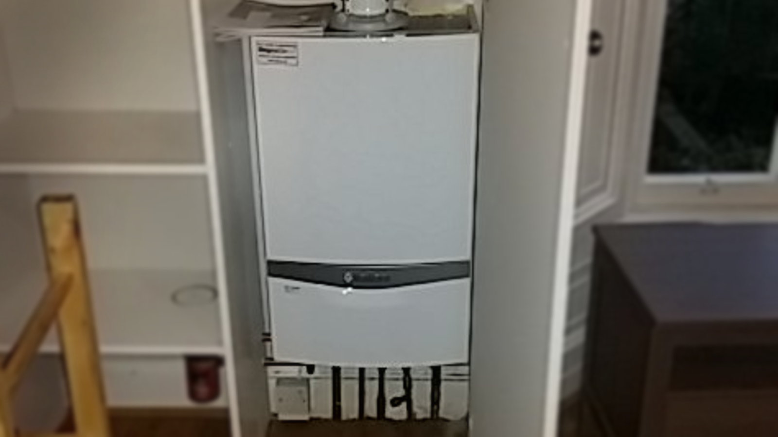 Completed boiler install by All Trade Property