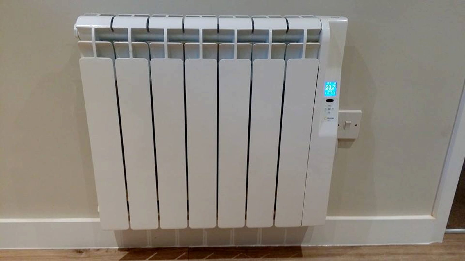 Electric Heater install by All Trade Property