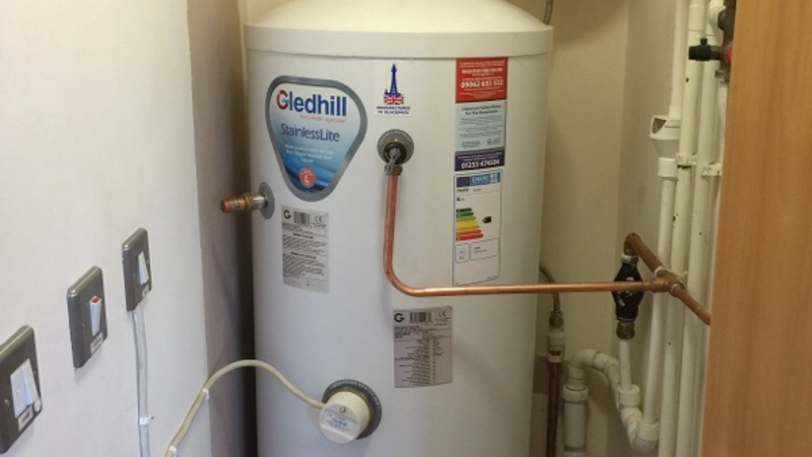 New unvented water cylinder by All Trade Property
