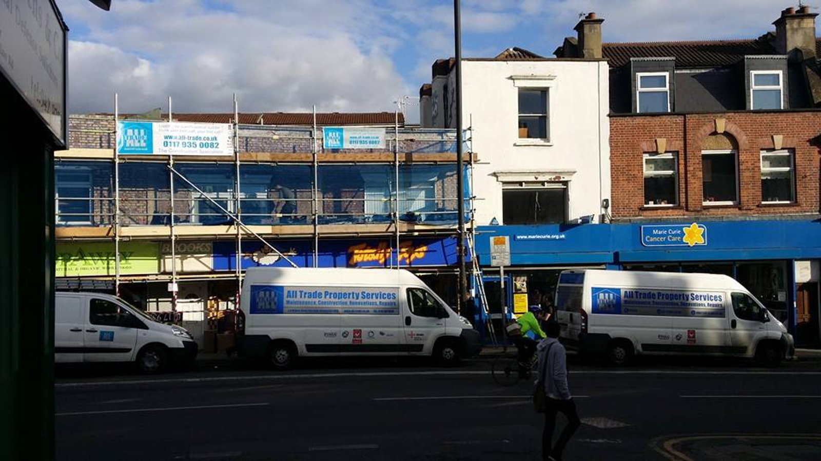 Scaffolding - by All Trade Property
