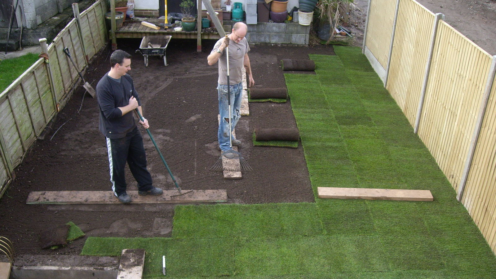 Landscaping & Groundworks by All Trade Property